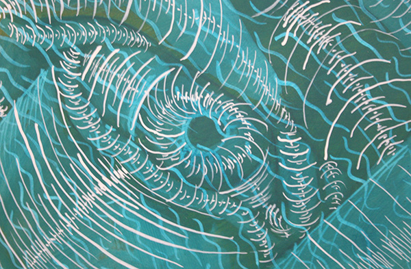 Philip Akkerman - #1 - 110x100cm (detail)