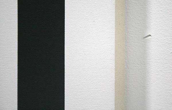 Philippe Decrauzat - Slow Motion - Acrylverf op doek (detail)