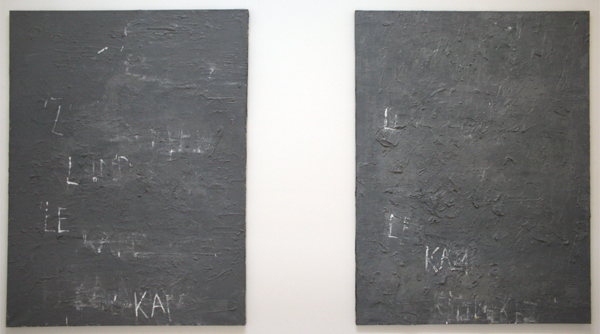 Philippe Vandenberg - L'important, c'est le kamikaze - Olieverf op doek