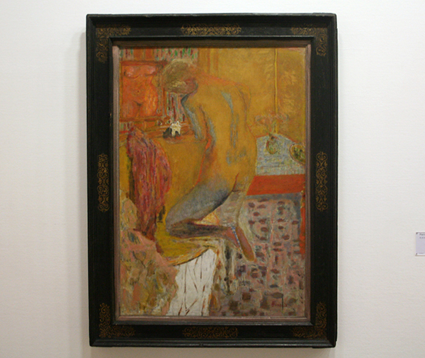 Pierre Bonnard - Nu de dos a la toilette