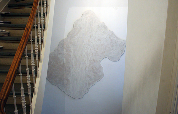 Piet Drikx - Zonder Titel (?) - 260x250cm Alkydverf op paneel