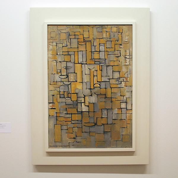 Piet Mondriaan - Compositie XIV - Olieverf op doek