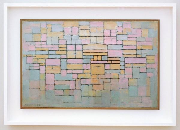 Piet Mondriaan - Composition V - Olieverf op doek 1914