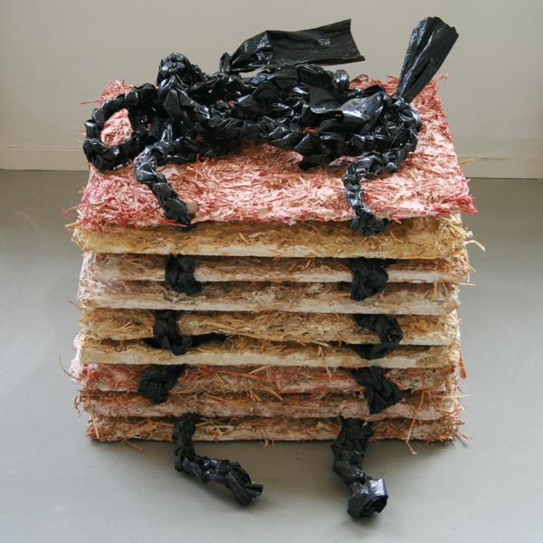 Rachel Koolen - Self Potrait in Drag - Diverse materialen (detail)