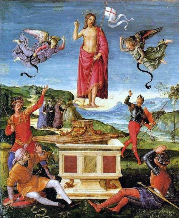 Raphael - De Herrijzenis van Christus - 1499-1502