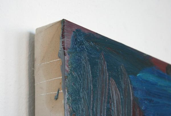 Raymond Cuipers - Night - 106x128cm Olieverf op doek (detail)