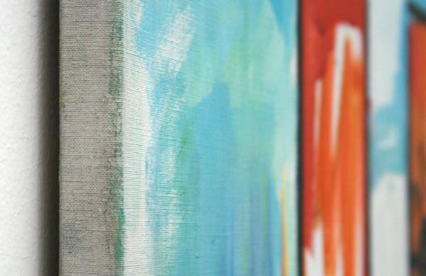Rene Daniels - Academie - Olieverf op canvas (detail)