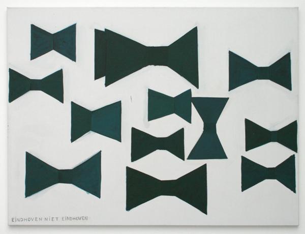 Rene Daniels - Zig-Zig Zigzag - Olieverf op doek