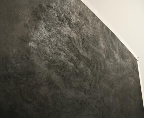 Renie Spoelstra - Recreatiegebied #73 - Houtskool op papier (detail)