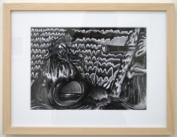 Rens Krikhaar - Pinocchio - 20x29cm Negropotlood op papier