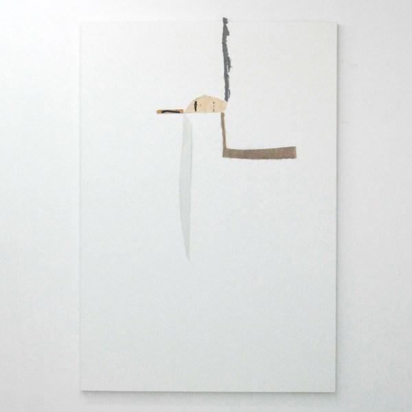Richard Aldrich - Spider,Bird - 213x147cm Doek en hout op linnen