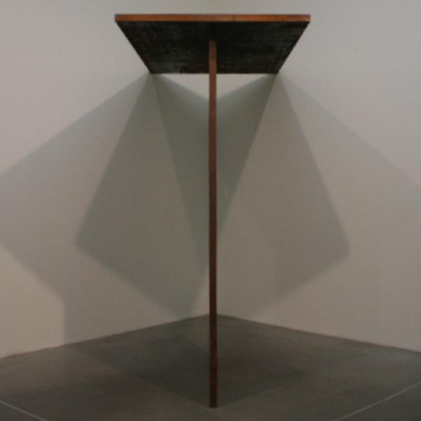 Richard Serra - Trip Hammer - Staal