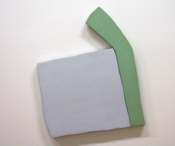 Richard Tuttle - Drifting (Drift V) - Verf op multiplex