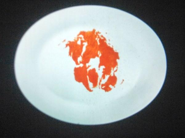 Rivane Neuenschwander - Pangaea's Diaries - 1minuut Digitale fotografie op 16mm projectie