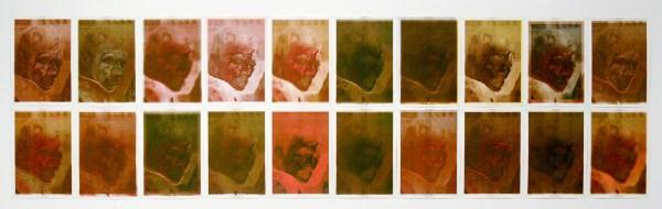 Rob Johannesma - Black Dreams Of Virulence - 42x29cm Riso op 100grams papier