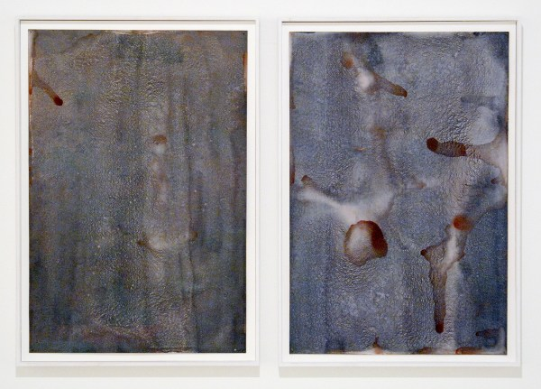 Rob Johannesma - If Everything Were Smoke (no 1 & 2) - 60x42cm Pigment en caseine op 356grams papier