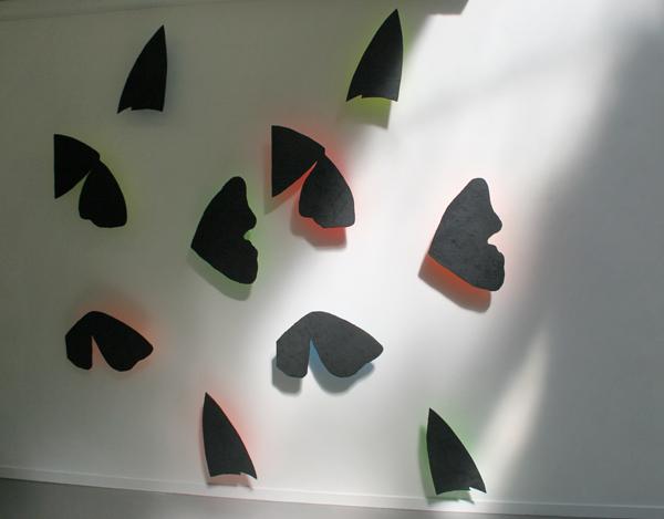Rob Regeer - Vlinders - Acrylverf op MDF