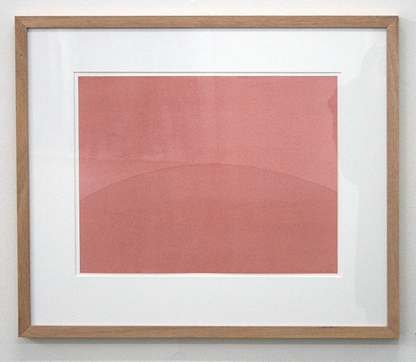 Robbine Clignett - Gebrande Siena - 37x47cm Aquarel op papier