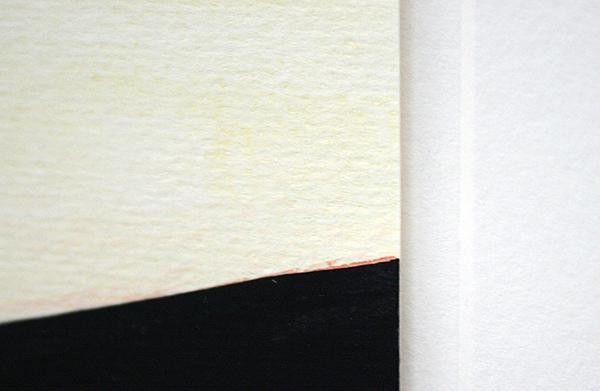 Robbine Clignett - Indigo & Indigo - 37x47cm Aquarel op papier (detail)