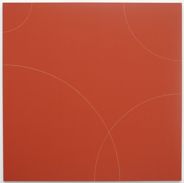 Robert Peter Mangold - Four Arcs Within a Square No1