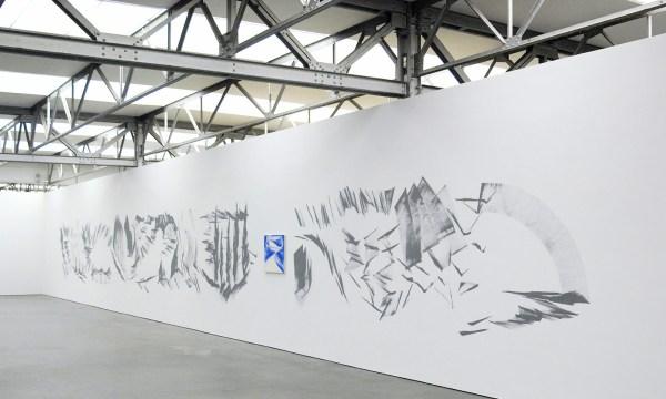 Robert Zandvliet - One Hundred Views - Gesso op muur & Untitled - Eitempera op doek