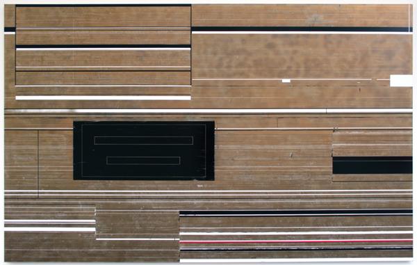 Ronald de Bloeme - Extract - Mat en hoogglanslak op doek