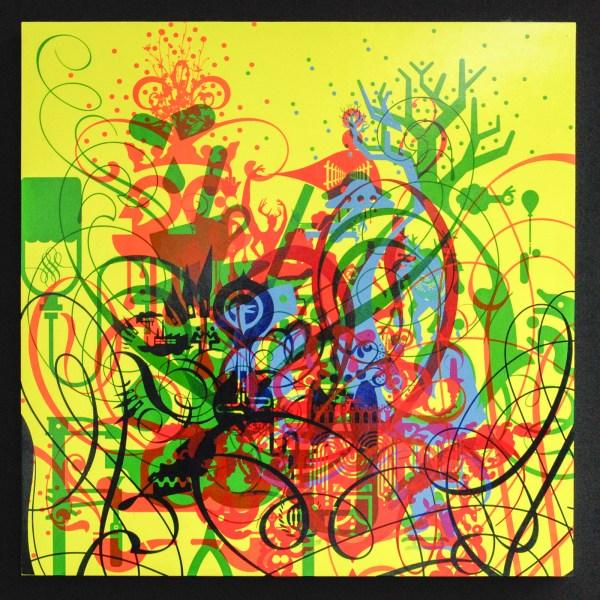 Ryan McGinnes - That Said - 61x61cm Acrylverf op houten paneel