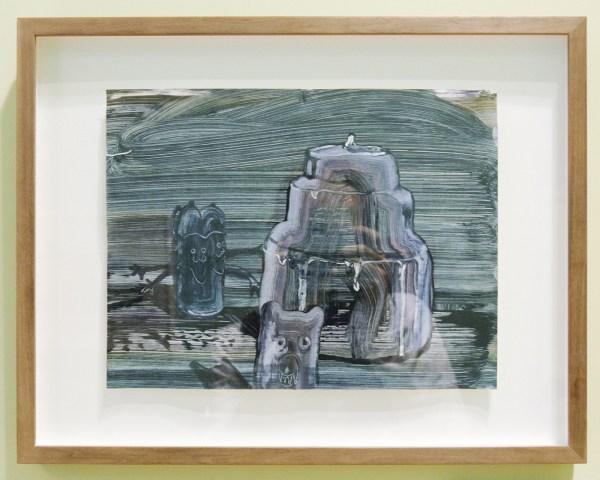 Sander van Deurzen - Untitled - Werk op papier (€1,060,-)