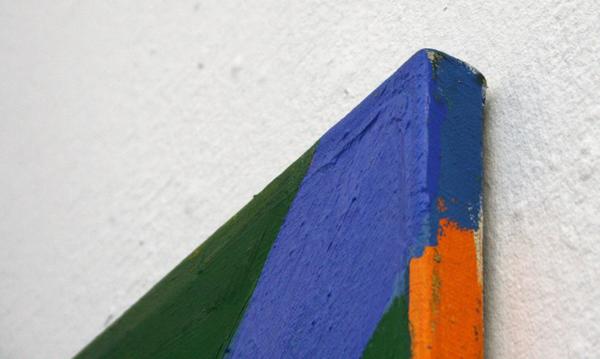 Sarah Verbeek - Zonder Titel - 155x155cm Olieverf op doek (detail)