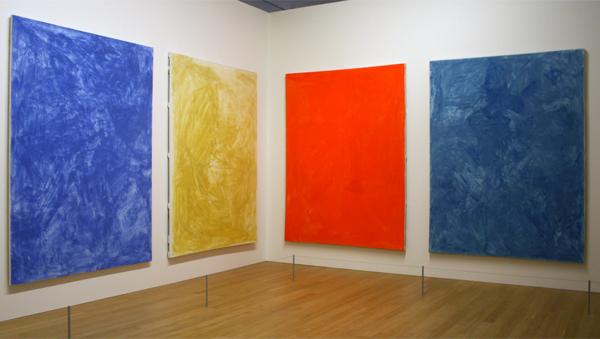 Sigmar Polke - Farbtafeln - Pigment met vislijm op doek