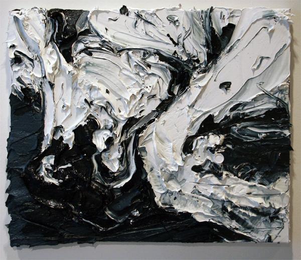 Simon Schrikker - Zonder Titel - 50x60 cm Olieverf op linnen