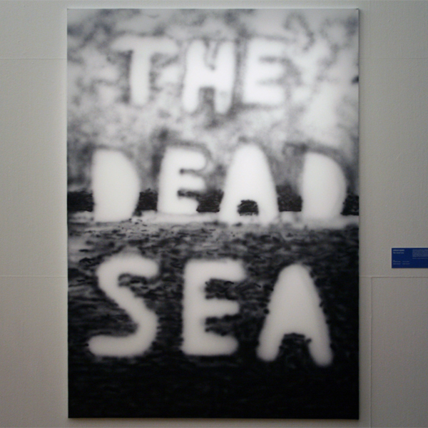 Stefan Marx - The Dead Sea - Acrylverf op doek