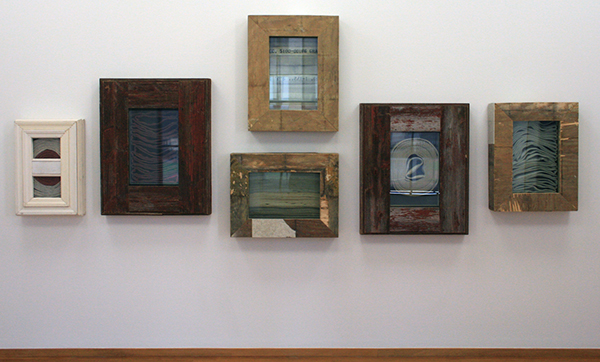 Theaster Gates - For Race Riots And Salon Gatherings - Hout, glas en brandslangen