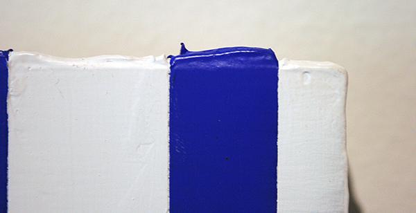 Thijs Jansen - Show - 30x40cm Olieverf en acrylverf op paneel (detail)