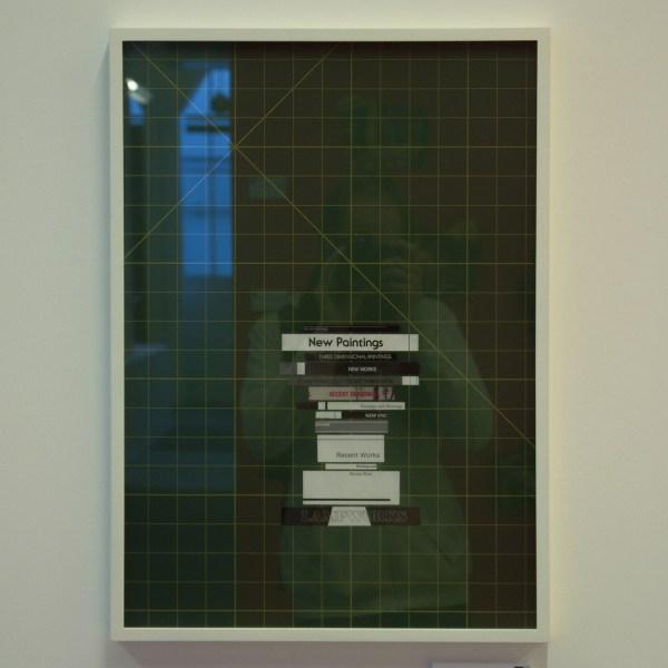 Thomas Baldischwyler - A f 02,1979 - Collage met lijst (€1,500,-)