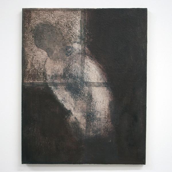 Thomas Rameckers - Knabbel Knuistje - 40x50cm Olieverf op gips op linnen