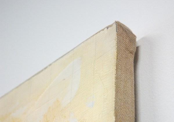 Tomas Rajlich - Zonder Titel - Acrylverf en potlood op doek (detail)