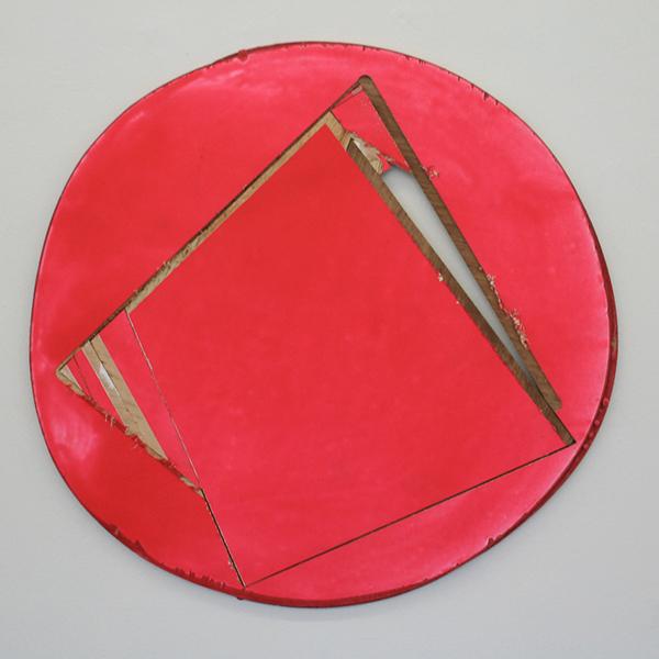 Ton van Kints - We Zijn Geweest 1 - 60cm Acrylverf, grondverf en multiplex