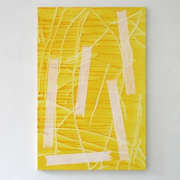 Toon Verhoef - Zonder Titel - 150x100cm Olieverf en acrylverf op doek