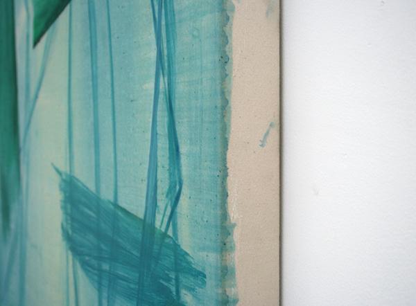 Toon Verhoef - Zonder Titel - 150x80cm Olieverf en acrylverf op doek (detail)