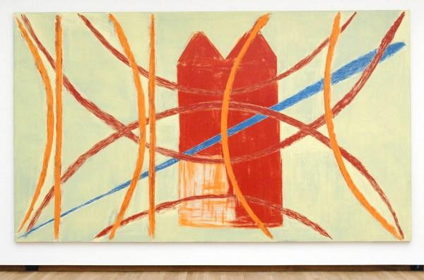 Toon Verhoef - Zonder Titel - Acrylverf, alkydverf en olieverf op doek 1992