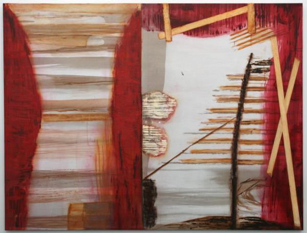 Toon Verhoef - Zonder Titel - Olieverf, alkydverf en acrylverf op canvas