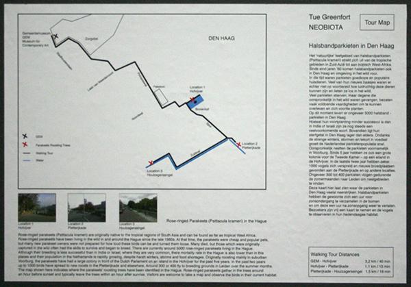 Tue Greenfort - Neobiota - Kaart