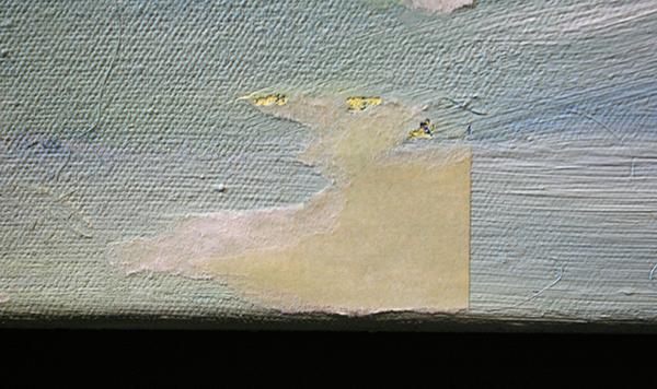 Wieteke Heldens - Dry Pain(t) - 100x150cm Olieverf op doek (detail)