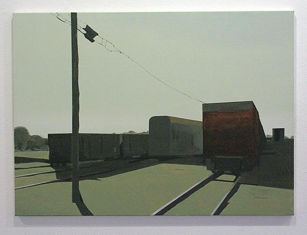 Wim Claessen - Silence (Wales) - 80x120cm Acrylverf op canvas