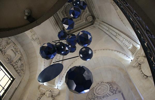Xavier Veilhan - Le Mobile de Grand Palais - Aluminium, kunststof, hars, polyurethane en motor