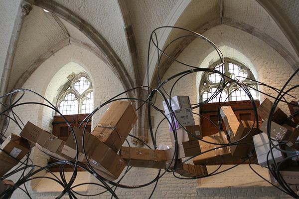 Yona Friedman & Jean-Baptiste Decavele - Iconostase - Metaal
