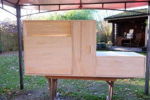 LOST TRACK Reiseblog Toyota Land Cruiser HZJ 78 Innenausbau Möbel selberbauen Poulownia Holz Weltreise Vorbereitungen