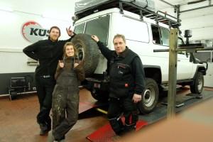 LOST TRACK Reiseblog Toyota Land Cruiser HZJ 78 Zusatztank Tourfactory KÜS Himmelpforten Weltreise Vorbereitungen