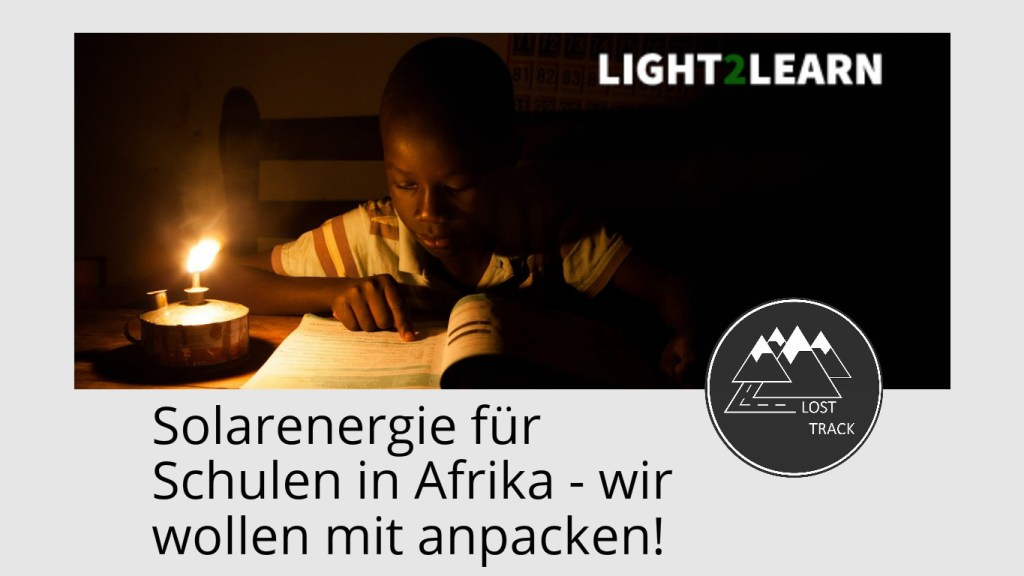 LOST TRACK light2learn crowdfunding web
